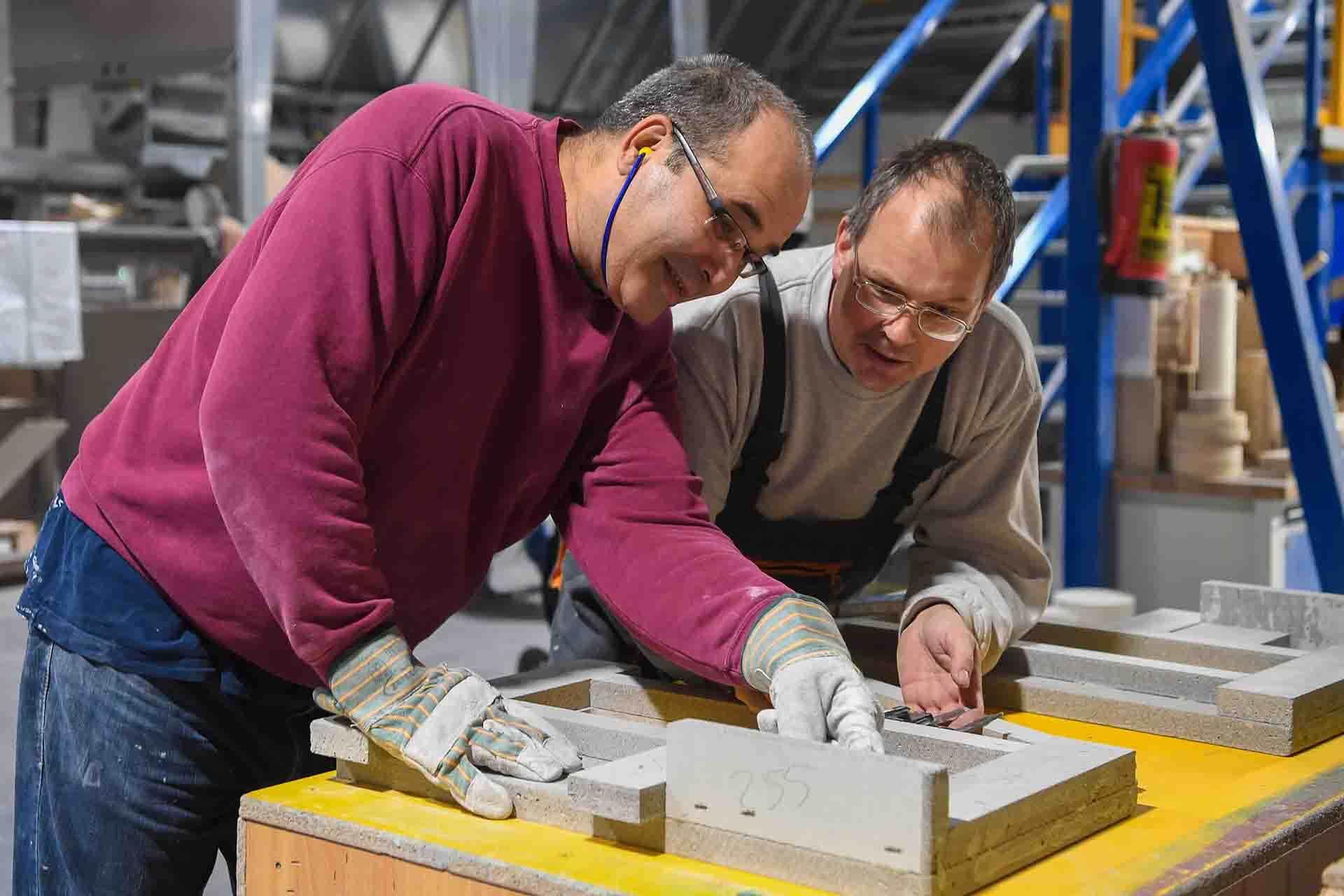 RAUERT Brandschutzplatten - CNC Bearbeitung
