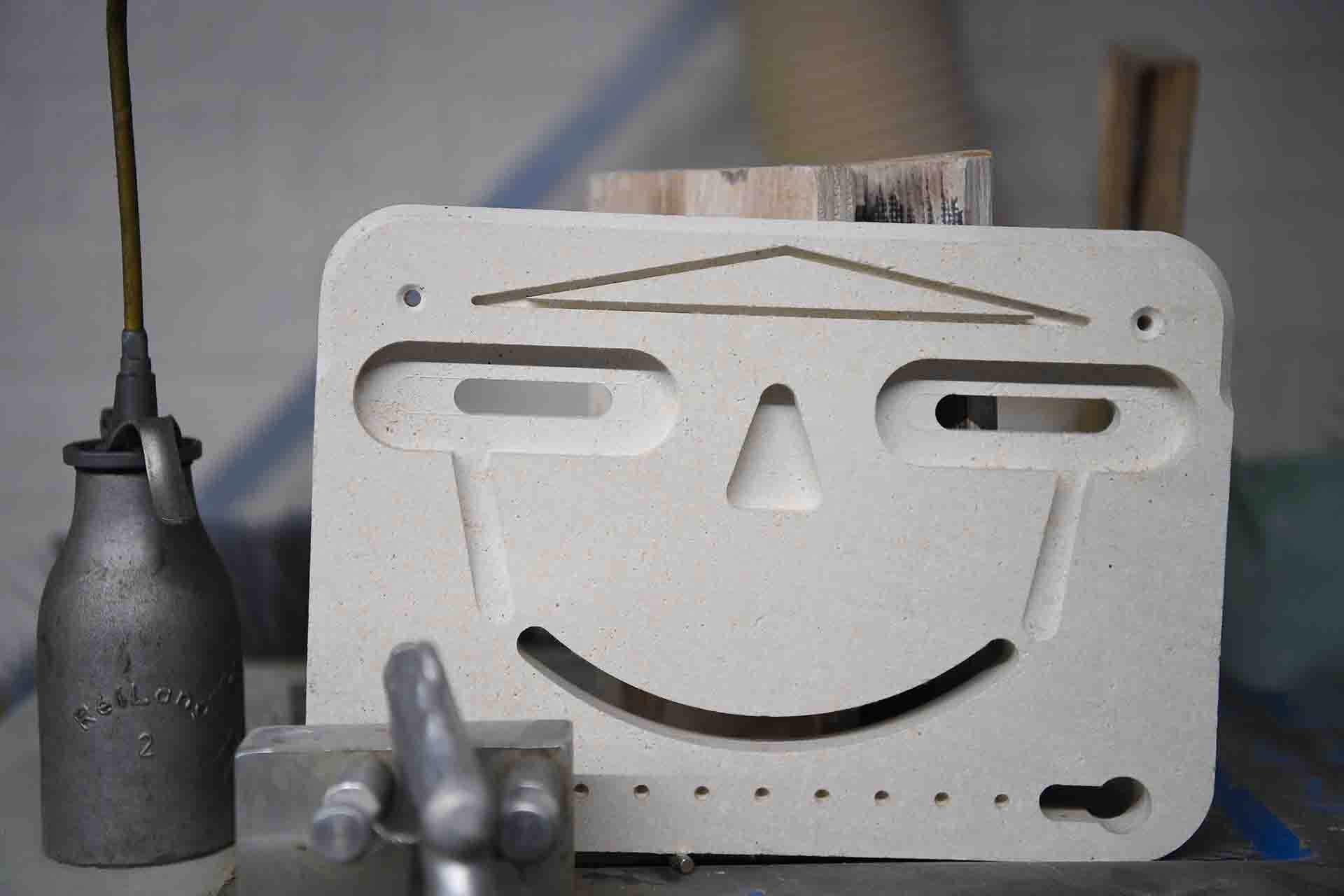 RAUERT Brandschutzplatten - CNC Formzuschnitt